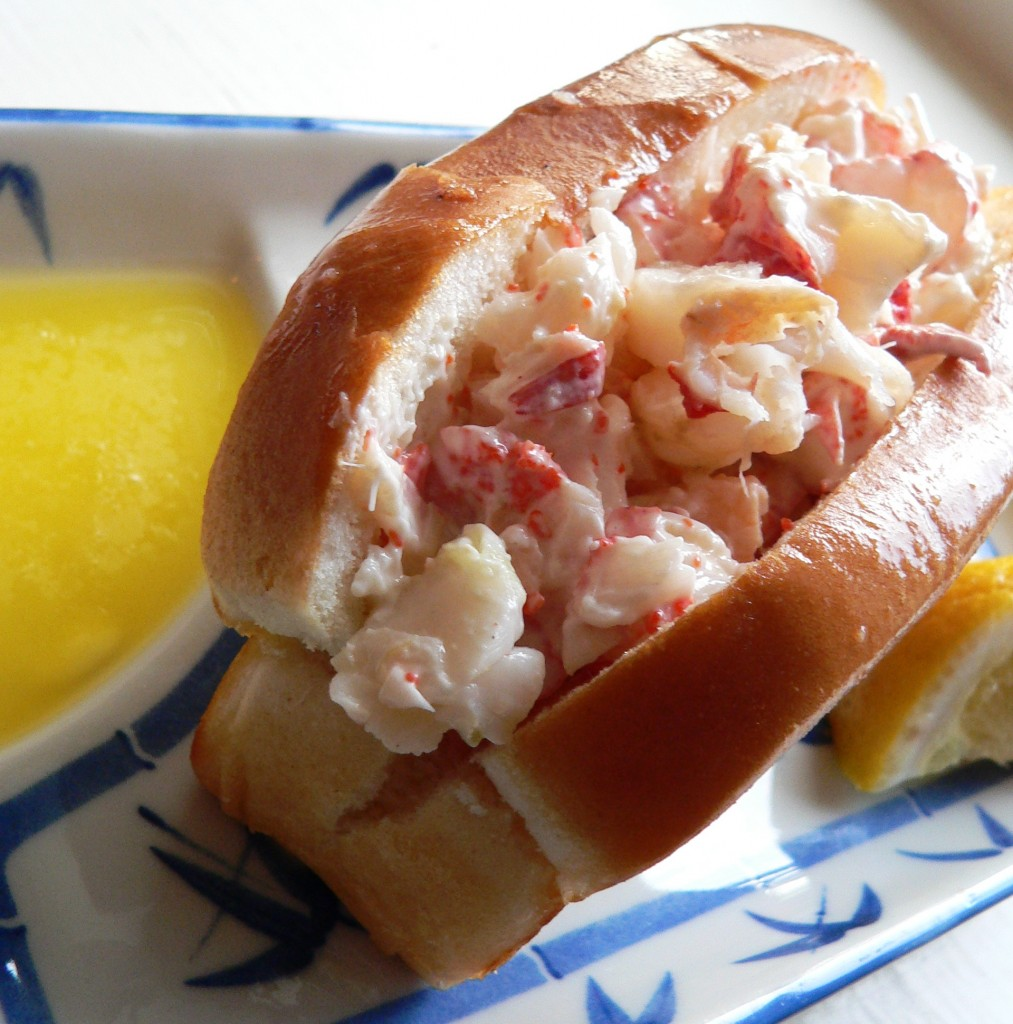 New England-style Lobster Roll: It was so fresh, yummy and pure.