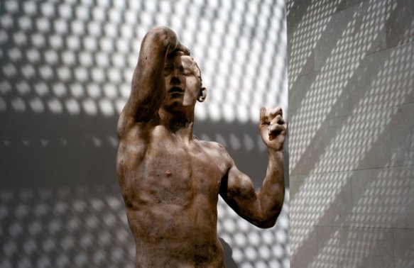 "Artist: Rodin | ""Age of Bronze""photo: Brandon Thibodeaux 